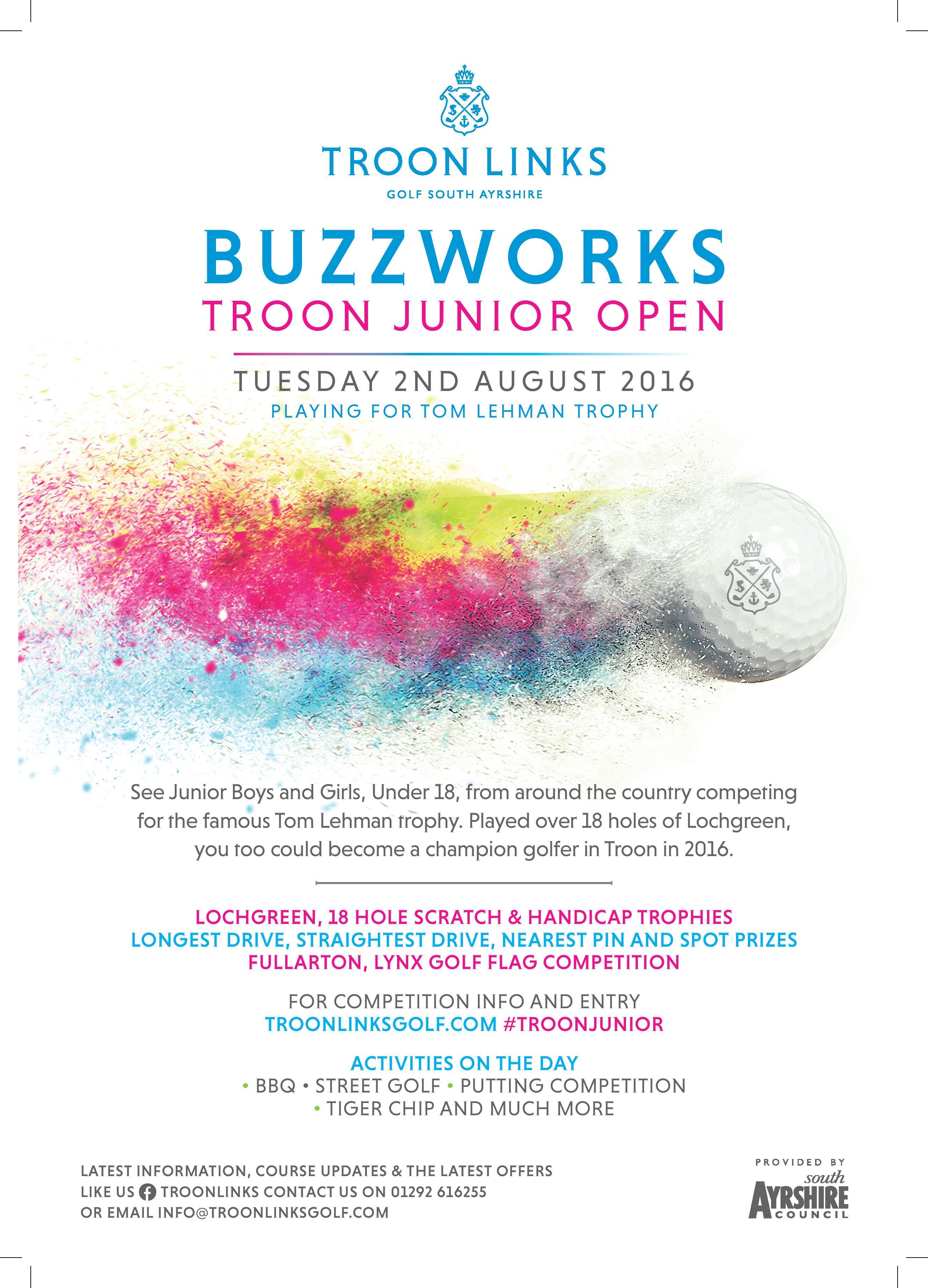 Buzzworks Troon Junior Open